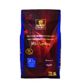 Cacao Barry Chocolate Mi Amere 58% pistols bolsa 5kg