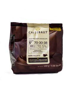 Callebaut Cobertura de Chocolate Amargo 70.4% Callets