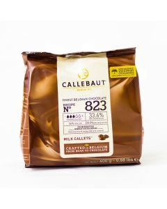 Callebaut Cobertura de Chocolate de Leche Obscuro 33.6% Callets