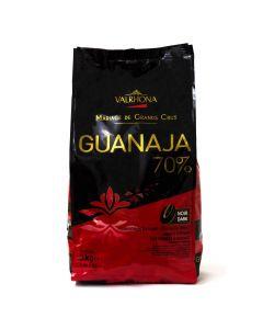 Valrhona Chocolate Guanaja 70% boton bolsa 3kg