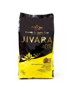 Valrhona Chocolae Jivara 40% boton bolsa 3kg