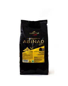Valrhona Chocolate Abinao 85% boton bolsa 3kg